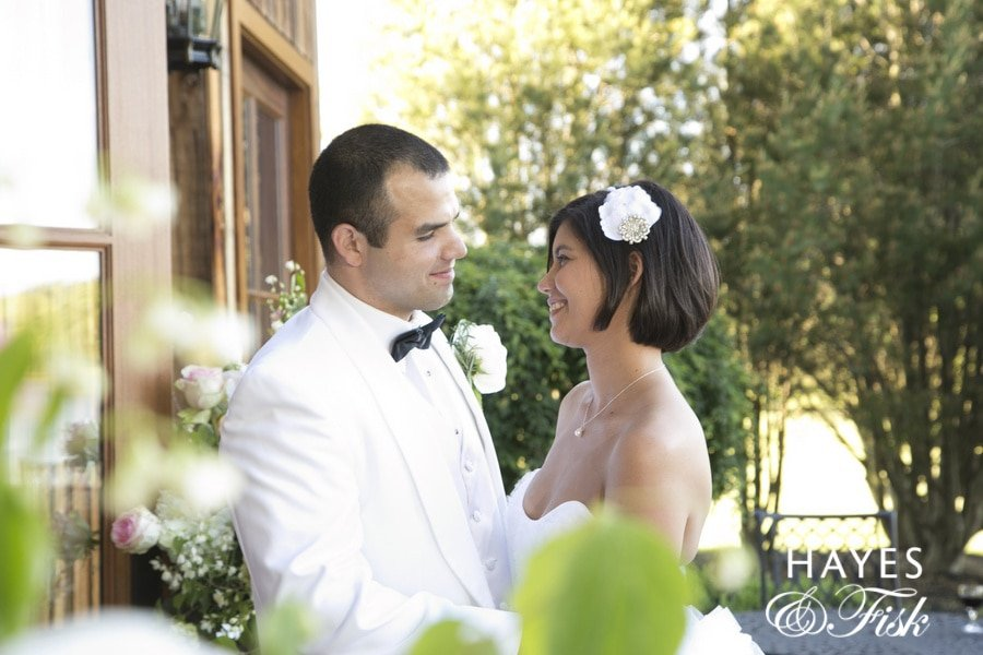 Kristina Keyser and Daniel Talone were married