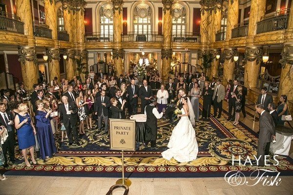 Filler Wedding Reception - The Jefferson Hotel