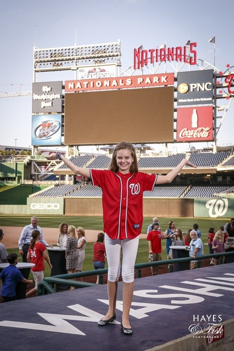 Bat Mitzvah I Diamond Club - Nationals Park Stadium