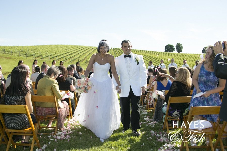 Virginia Wedding - Trump Winery