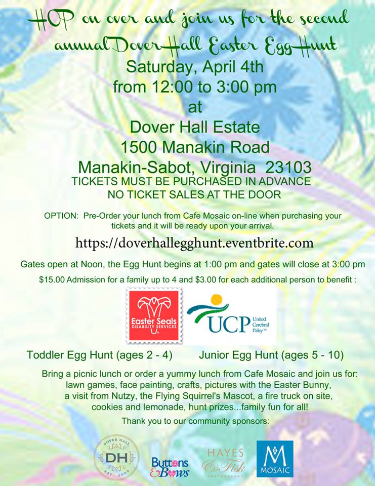 Dover Hall Easter Egg Hunt