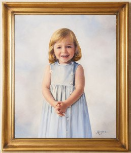 Spring Studio Oil Portrait Sale to benefit Easter Seals UCP