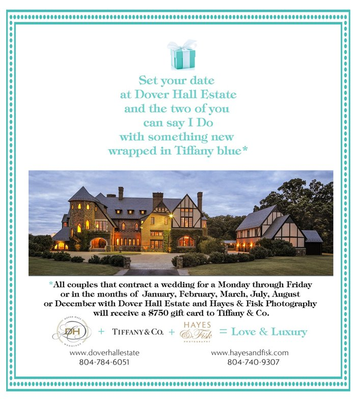 Hayes & Fisk + Dover Hall Wedding Special