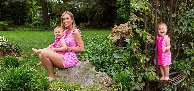 Family Portraits in the Garden