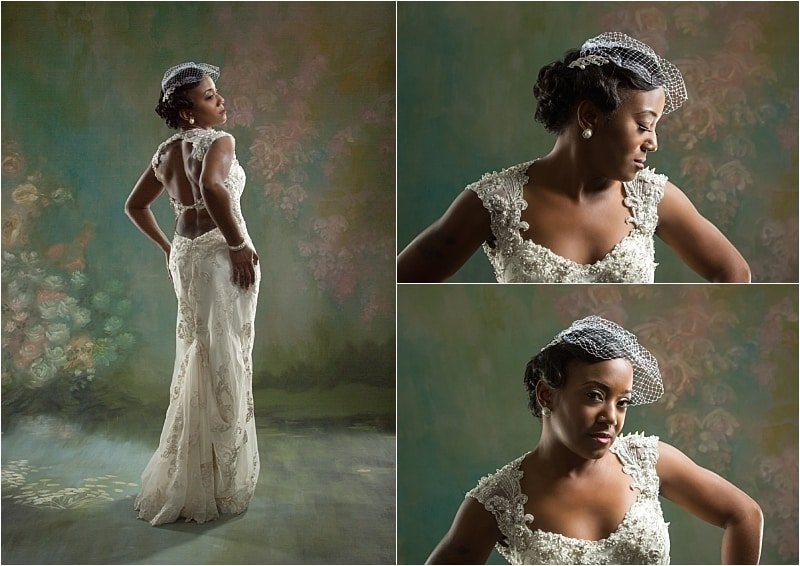 Stylish Bridal Portrait Session