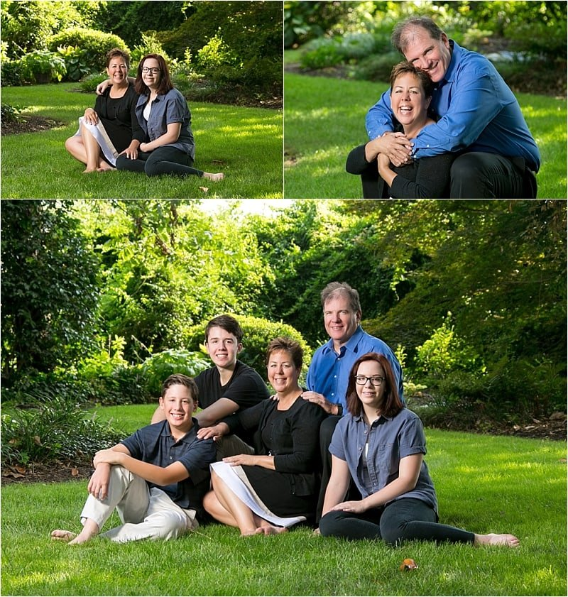 The Allen Family Through the Years